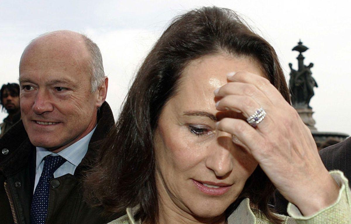 Alain Rousset et Ségolène Royal – TRAVERS ERIC/SIPA