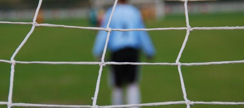 Les événements ont eu lieu lors d'un match amateur de première division de district en Lorraine. Illustration