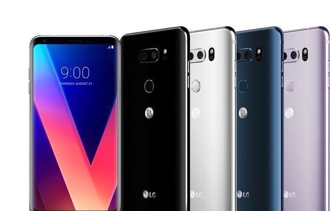 Le V30 de LG veut aussi s'imposer comme un smartphone audiophile.