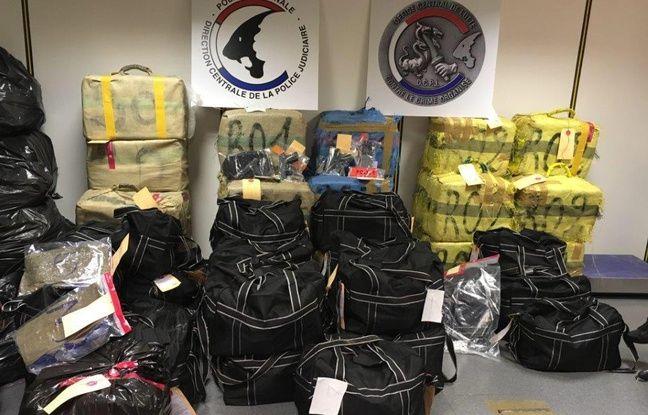 Seine-Saint-Denis: Un important trafic international de stupéfiants démantelé
