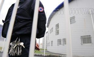 Gardien à la prison de Vézin-le-Coquet, près de Rennes