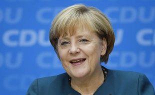 Angela Merkel, le 23 septembre 2013 à Berlin.