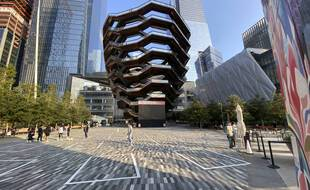 Le monument « The Vessel » à New York.