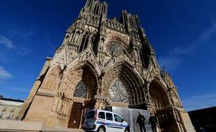 La cathédrale de Reims, en octobre 2020. (illustration)