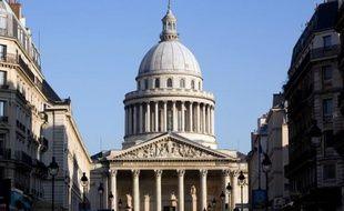 Le Panthéon à Paris le 16 février 2010