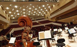 L'auditorium utilisé par l'ONL, salle du Nouveau-Siècle à Lille