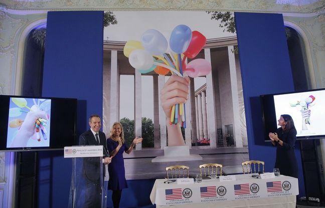 Comme «Le Bouquet de tulipes» de Jeff Koons, ces cinq oeuvres d'art qui ont joué sur la diplomatie