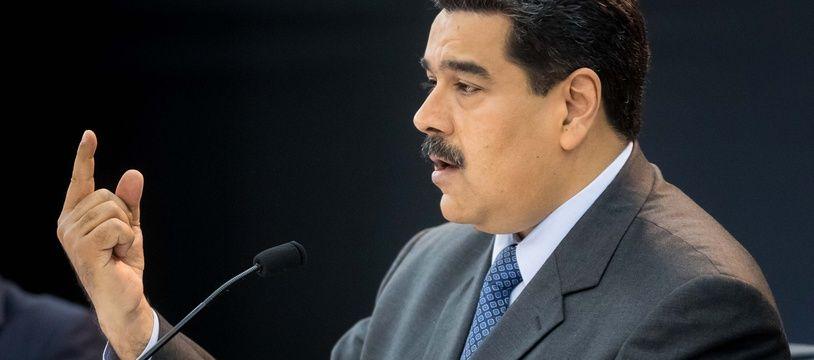 Le président venezuelien Nicolas Maduro.