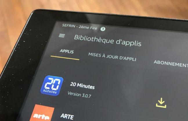 La boutique d'applications est plus limitée que le Google Play Store, mais l'essentiel y est!