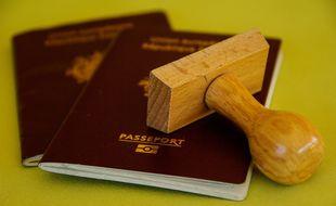 Un passeport (photo d'illustration).