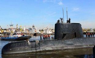Le « San Juan », joyau de la Marine argentine.