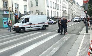 Plusieurs personnes ont été blessées dans l'explosion d'un colis piégé à Lyon, ce vendredi 24 mai.