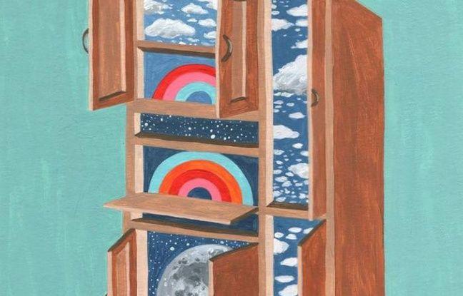 Peinture utilisée par le groupe psyché Ponta Preta