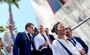 Emmanuel Macron, le 24 octobre 2019 à saint-Denis de la Réunion.