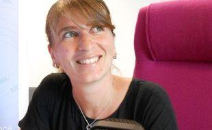 Elodie Callac, nouvelle présentatrice de la météo sur les antennes de Radio France