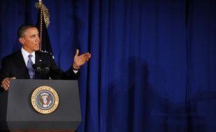 Barack Obama, le 27 février 2013.