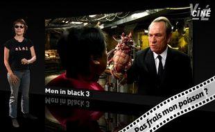 Caroline Vié, critique cinéma de «20 Minutes», décrypte le film «Men in black 3» dans son émission, Ciné Vié.