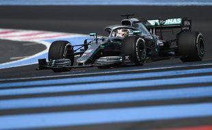 Lewis Hamilton avait remporté le GP de France au Castellet en 2019 (archives).