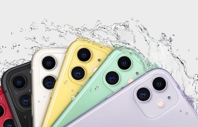 Les iPhone 11 résistent aux chocs et à l'immersion.