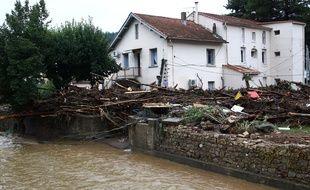 Dans la nuit du 17 au 18 septembre 2014, une violente crue de la rivière Bitoulet avait causé de gros dégâts à Lamalou-les-Bains, près de Montpellier.
