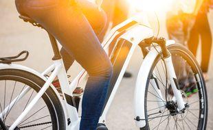 Un vélo électrique (illustration)