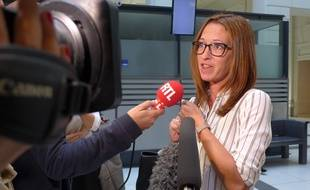 Emilie Petitjean est présidente de l'association Promenade des Anges qui soutient les victimes de l'attentat de Nice.