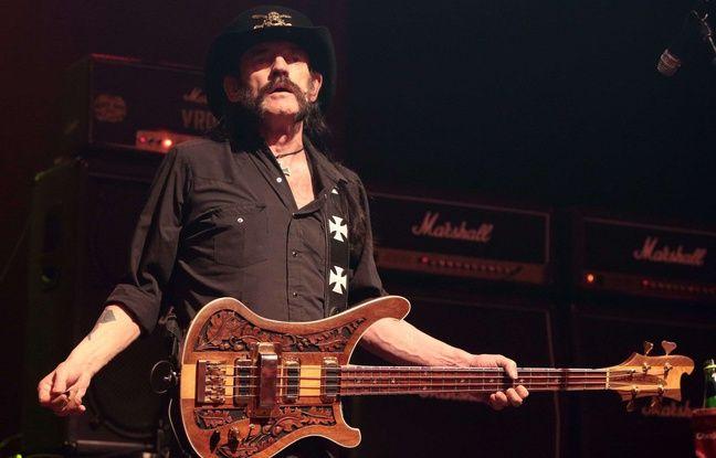 Lemmy Kilmister lors d'un concert en septembre 2015.
