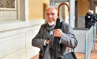 Gabriel Loison, le 19 septembre 2017  arrive à son procès devant la cour d'assises d'Ille-et-Vilaine.