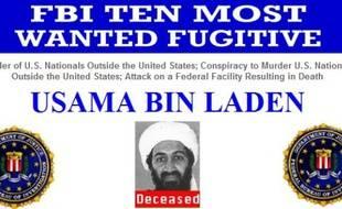 Ossama Ben Laden, sur la liste des 10 fugitifs les plus recherchés par le FBI.
