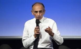 Conference de Eric Zemmour (ecrivain, essayiste, journaliste politique, chroniqueur, polemiste francais, Possible candidature a l'election presidentielle de 2022, le 18 septembre 2021 à Nice