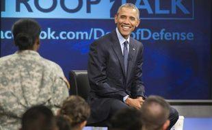 Le président américain Barack Obama à Fort Meade dans le Maryland, le 11 septembre 2015