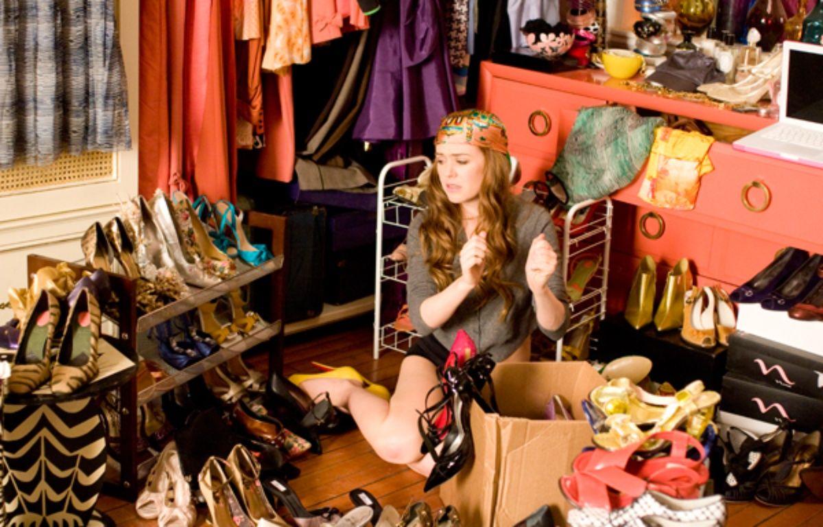 L'héroïne de «Confessions d'une accro du shopping» n'a visiblement pas lu le livre de Marie Kondo. – Walt Disney Studios Motion Pictures France
