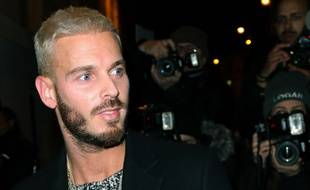 Matt Pokora, durant la Fashion Week parisienne.
