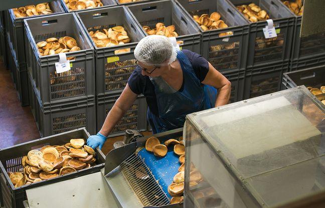 Il ne reste plus que cinq fabriquants de craquelins dans la vallée de la Rance, comme ici sur le site des Craquelins de Saint-Malo.