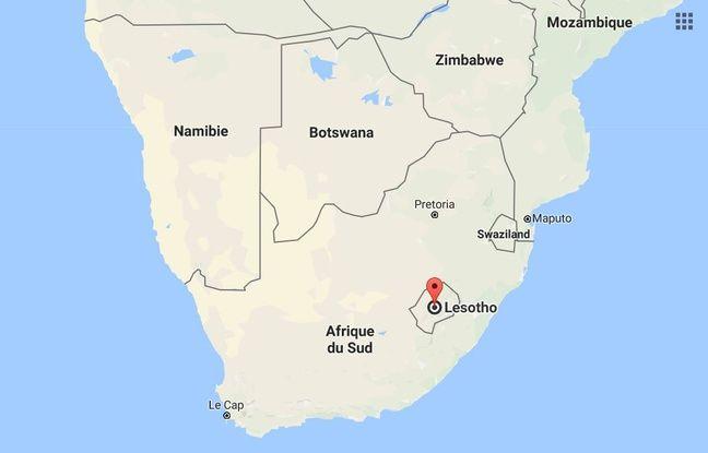 Capture d'écran du Lesotho.