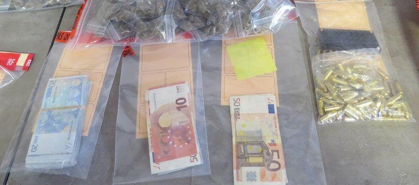 Marseille le 14 OCTOBRE 2015 démantelement d'un réseau de stupéfiants.