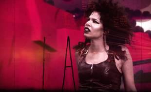 Capture d'écran du clip de Lucky Girl de Shaka Ponk