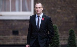 Dominic raab, le ministre britannique du Brexit, le 29 octobre 2018.