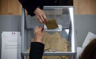 Vote lors de l'élection sénatoriale (illustration).