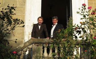 A Bordeaux, le 23 Septembre 2014, les deux créateurs de l entreprise Crowdfunding-immo.