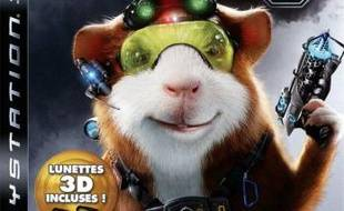 "Jaquette de ""Mission-g"", adaptation du film d'animation, sur ps3"