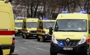 Image d'illustration d'ambulances en Belgique.