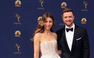 Les acteurs Jessica Biel et Justin Timberlake
