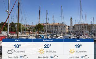 Météo La Rochelle: Prévisions du vendredi 18 juin 2021