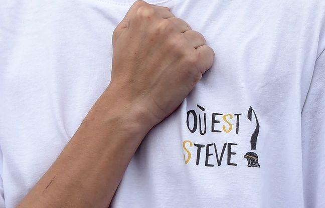 Une manifestante le 20 juillet 2019 à Nantes, un mois après la disparition de Steve Maia Caniço
