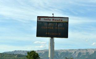 La circulation a été chargée sur les routes de France cet été (image d'illustration).