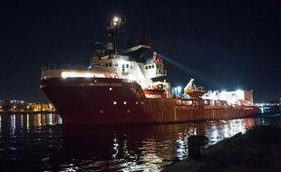 L'Ocean Viking quitte le port de Marseille le 4 août 2019