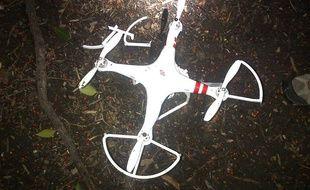 Un drone de type «quadcopter» s'est écrasé dans le jardin de la Maison Blanche, le 26 janvier 2015.