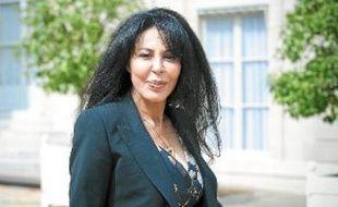 Yamina Benguigui dénonce un conflit «oublié et sans images».