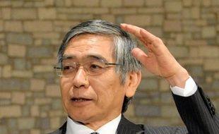 Haruhiko Kuroda, gouverneur de la Banque du Japon, le 29 juillet 2013 à Tokyo